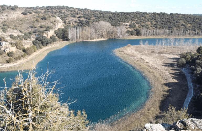 Lagunas de Ruidera desde ariiba