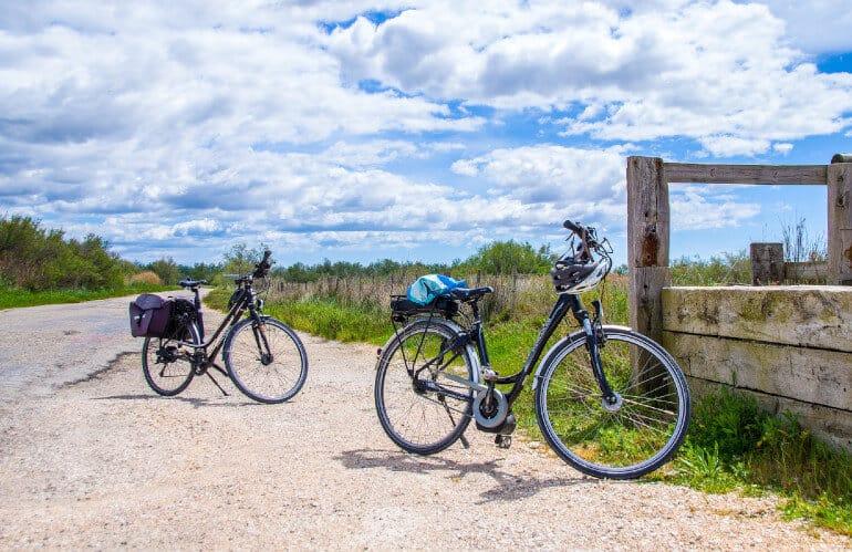 Paseo en bici eléctrica Tablas de Daimiel