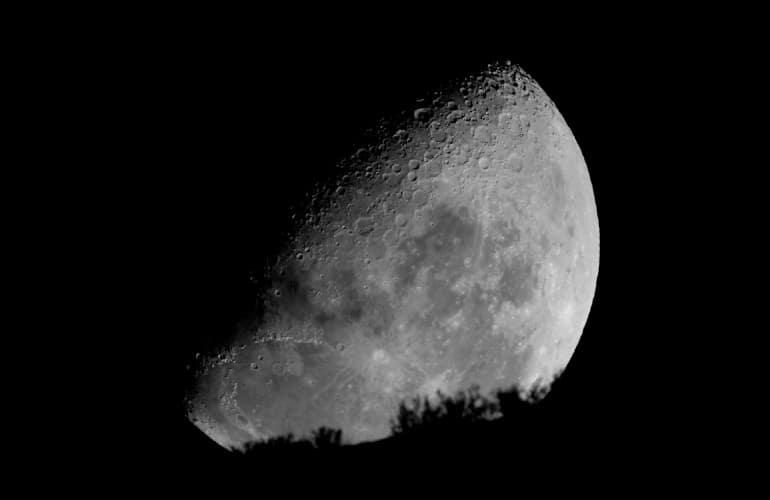 Luna astroturismo Tablas de Daimiel
