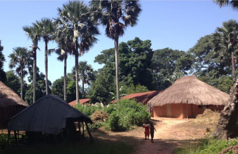 Chozas de Senegal