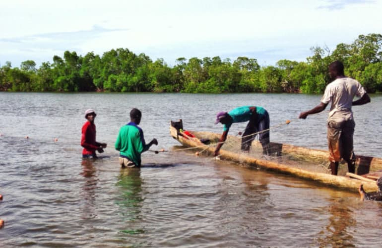 Pesca en Senegal