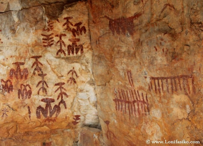 Pinturas rupestres valle de Alcudia