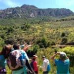 grupo en el Valle de Alcudia