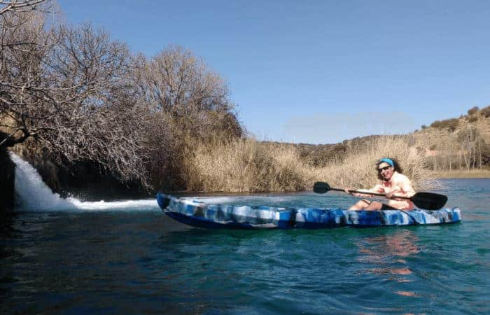 Kayak en Ruidera