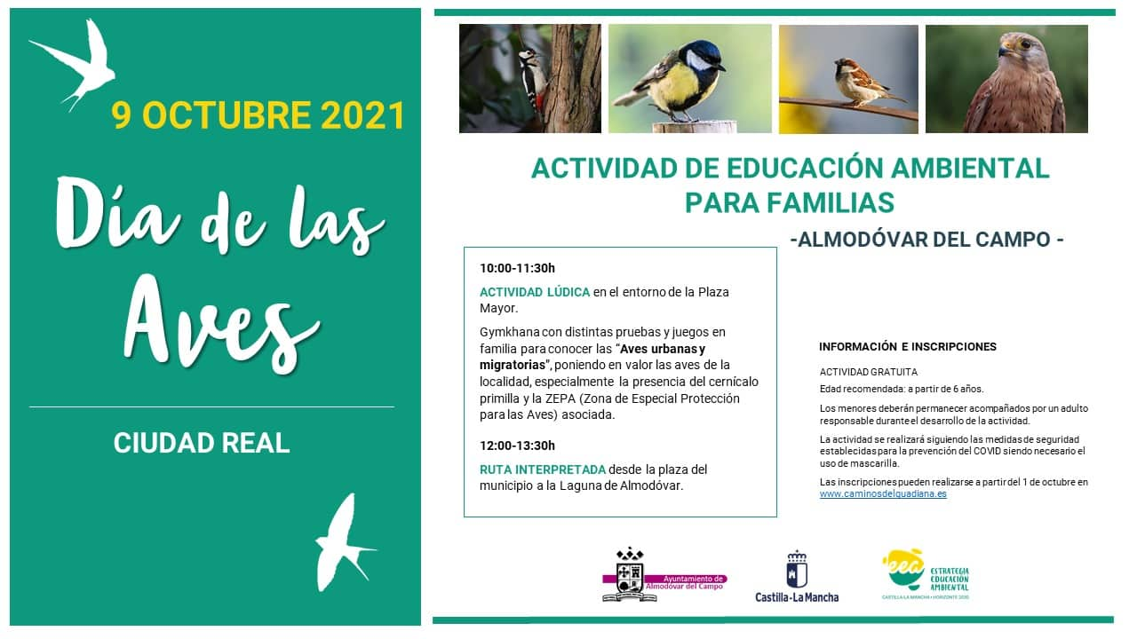 cartel día de las aves 2021